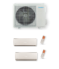 POMPE A CHALEUR CLIMATISATION AIR AIR BISPLIT INVERTER 2 SPLITS 5.2KW TECHNIBEL